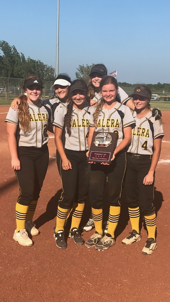 Calera Softball Place High in Plainview