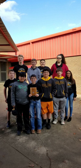 Congrats to Jr High Academic team winning Second at OAAC Firebird Tournament